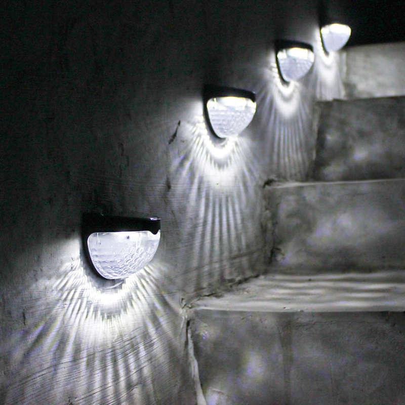 0-3W-6-Led-Energia-Solar-Luz-de-Carga-Automatica-Lampara-Impermeable-Al-Air-H7D2 miniatura 8