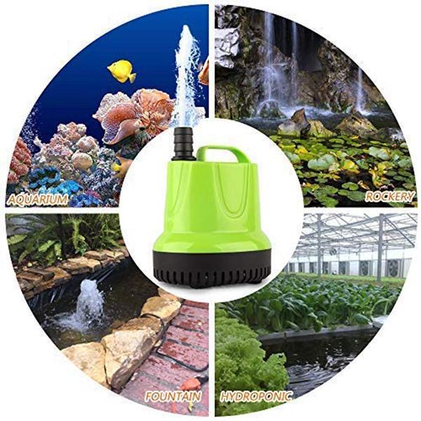 1X-Kleine-Tauch-Wasser-Pumpe-Fuer-Teich-Aquarium-Hydro-Kultur-Aquarium-Br-M1A6 Indexbild 3