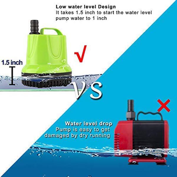 1X-Kleine-Tauch-Wasser-Pumpe-Fuer-Teich-Aquarium-Hydro-Kultur-Aquarium-Br-M1A6 Indexbild 5