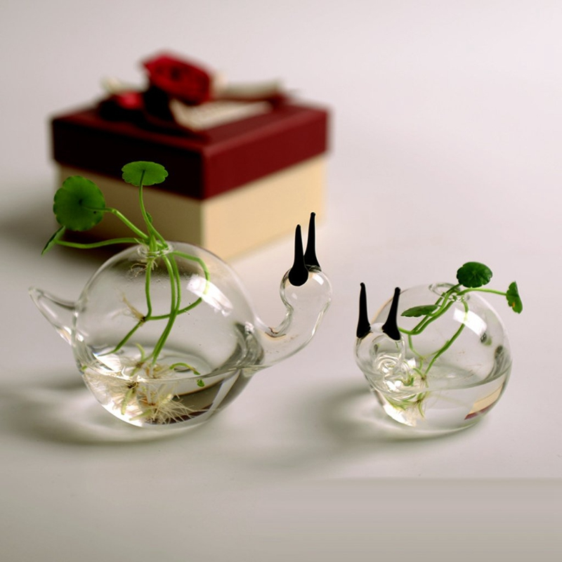 European-Ideas-Only-Beautiful-Delicate-Vase-The-Snail-A-Hydroponic-Flower-I-J2W8 thumbnail 5