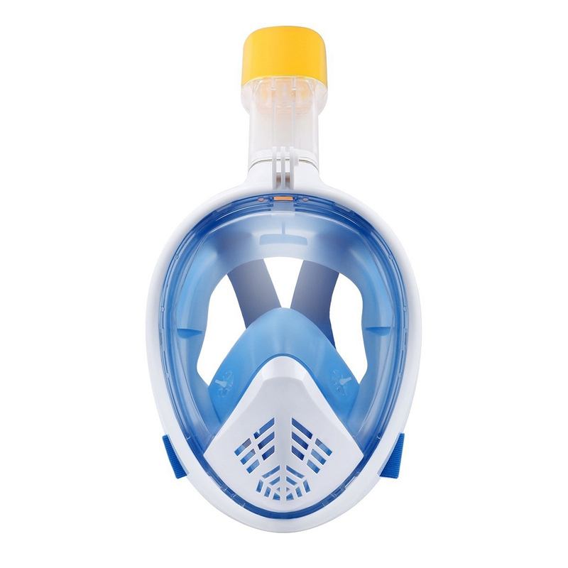 2X-Scuba-Diving-Mask-Full-Face-Snorkeling-Mask-Underwater-Anti-Fog-Snorkeli-L6K9 thumbnail 6