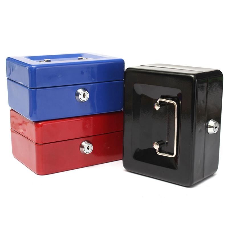 Bloqueable-Caja-De-Seguridad-Segura-De-Almacenamiento-De-Moneda-De-Dinero-E-S6Z7 miniatura 3