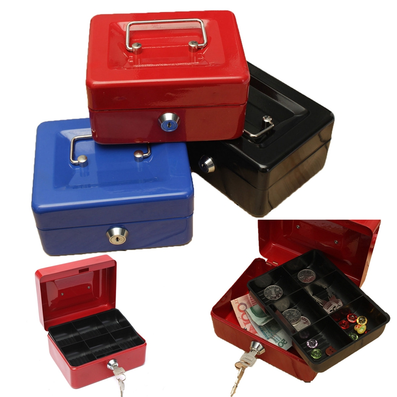 Bloqueable-Caja-De-Seguridad-Segura-De-Almacenamiento-De-Moneda-De-Dinero-E-S6Z7 miniatura 5