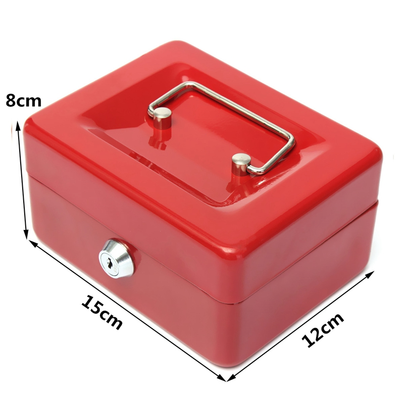 Bloqueable-Caja-De-Seguridad-Segura-De-Almacenamiento-De-Moneda-De-Dinero-E-S6Z7 miniatura 7