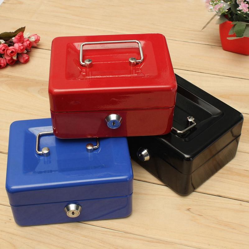 Bloqueable-Caja-De-Seguridad-Segura-De-Almacenamiento-De-Moneda-De-Dinero-E-S6Z7 miniatura 12