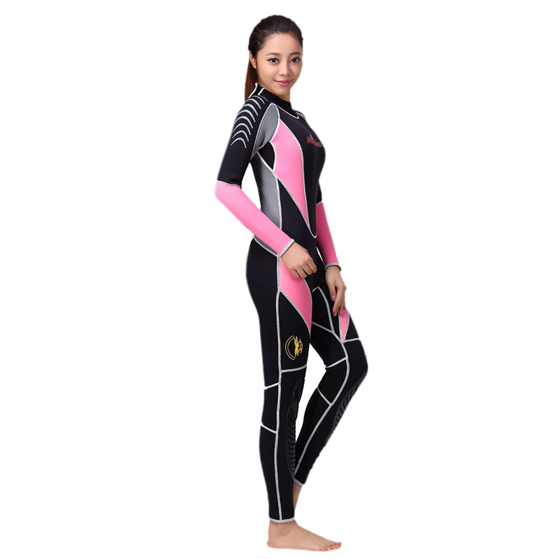 Dive-amp-Sail-Diving-Suit-For-Women-Neoprene-Professional-Insulation-Wetsuit-Wi-W5Z7 thumbnail 3