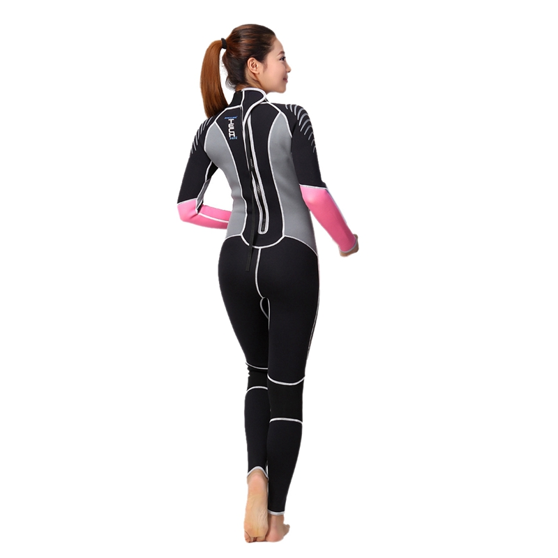Dive-amp-Sail-Diving-Suit-For-Women-Neoprene-Professional-Insulation-Wetsuit-Wi-W5Z7 thumbnail 5