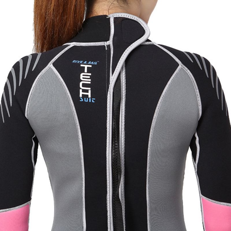 Dive-amp-Sail-Diving-Suit-For-Women-Neoprene-Professional-Insulation-Wetsuit-Wi-W5Z7 thumbnail 6