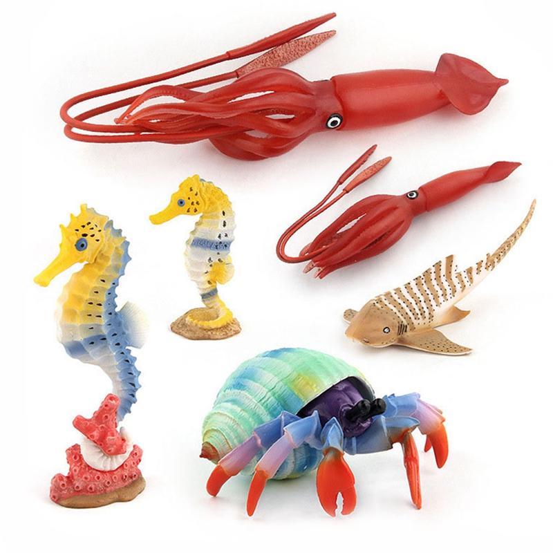 Juguetes-de-Accion-Figura-Mundo-de-Ocean-Marine-Animal-Biologico-Mini-Juguet-7N5 miniatura 3