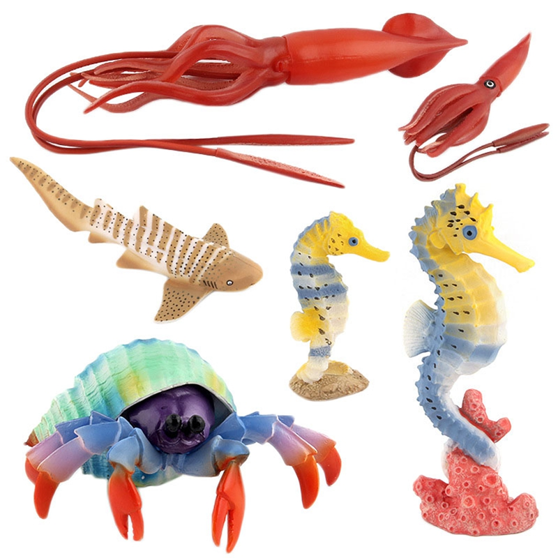 Juguetes-de-Accion-Figura-Mundo-de-Ocean-Marine-Animal-Biologico-Mini-Juguet-7N5 miniatura 20