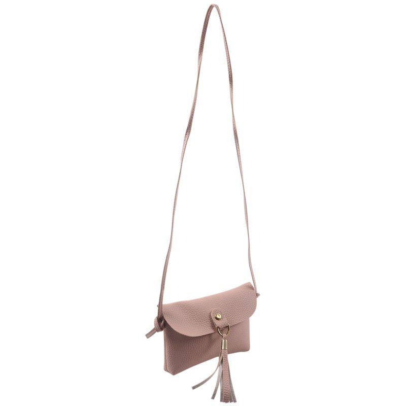 Mode-Tasche-Vintage-Handtasche-Kleine-Messenger-Quaste-UmhaeNgetaschen-G5U9 Indexbild 20