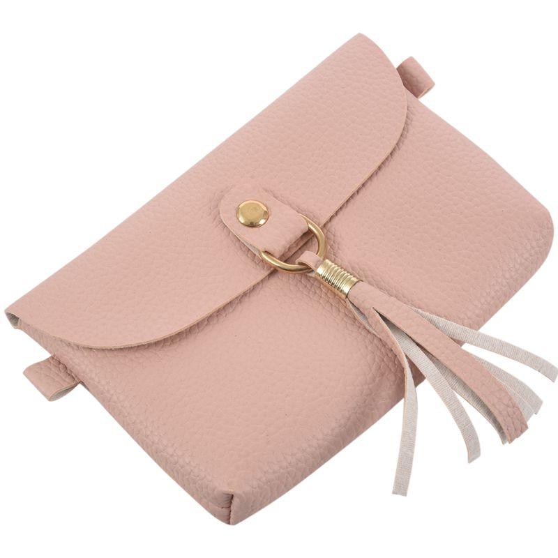 Mode-Tasche-Vintage-Handtasche-Kleine-Messenger-Quaste-UmhaeNgetaschen-G5U9 Indexbild 25