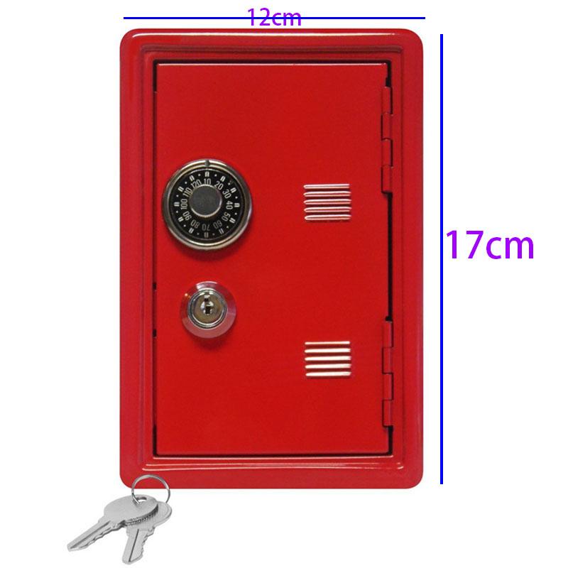 Hucha-Creativa-Mini-Atm-Caja-de-Dinero-Contrasena-Digital-Monedas-Efectivo-Z7M3 miniatura 5