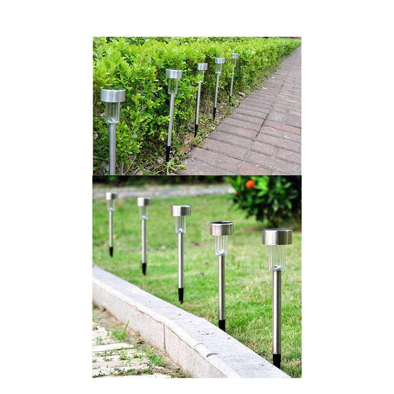 5-Piezas-Led-Lampara-De-Jardin-Panel-Solar-Led-Lampara-De-Punto-De-Espiga-L-J3D2 miniatura 10