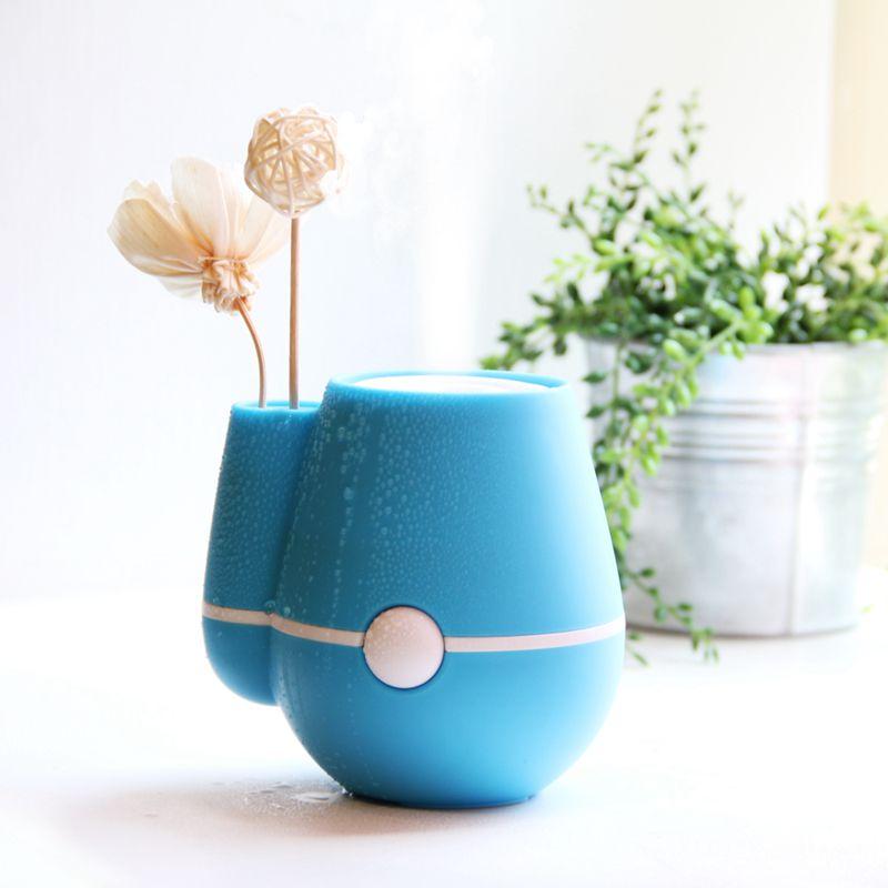 220Ml-Nouveau-Usb-Fleur-Vase-Forme-Bureau-A-Domicile-220Ml-Air-Brumisateur-T1T8 miniature 11