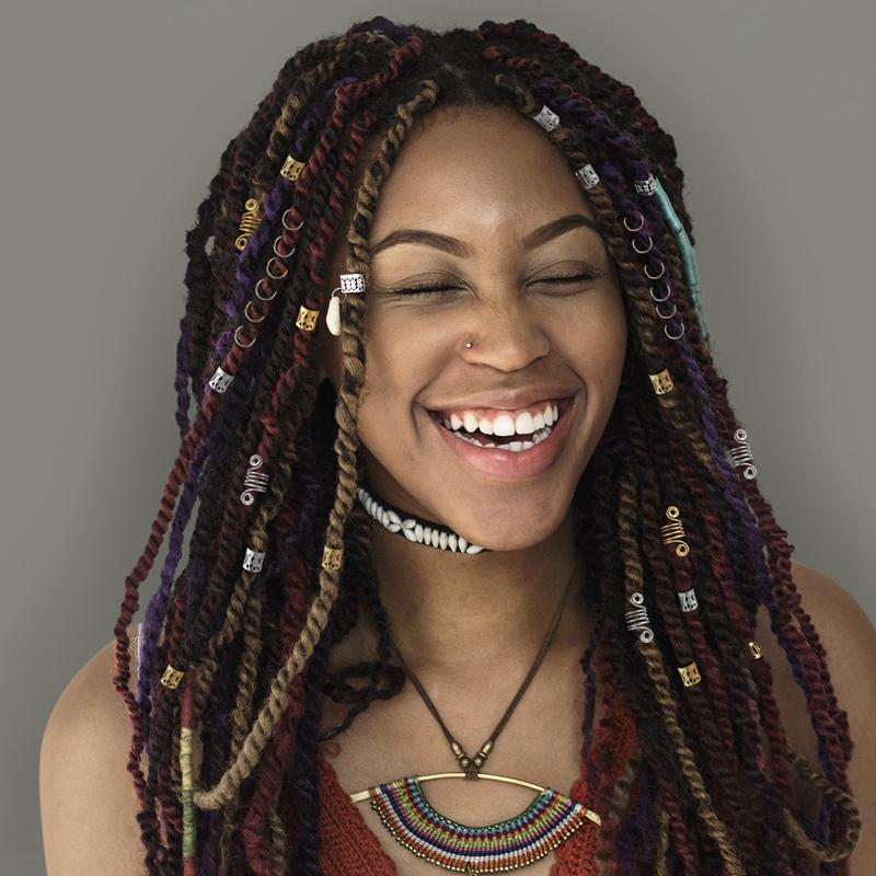 100Pcs-Hair-Braid-Dread-Dreadlock-Beads-Adjustable-Cuff-Clip-8Mm-Clip-Metal-C1U5 thumbnail 16