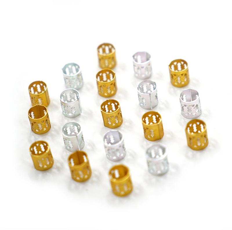100Pcs-Hair-Braid-Dread-Dreadlock-Beads-Adjustable-Cuff-Clip-8Mm-Clip-Metal-C1U5 thumbnail 28