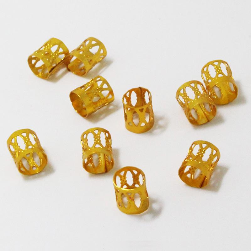 100Pcs-Hair-Braid-Dread-Dreadlock-Beads-Adjustable-Cuff-Clip-8Mm-Clip-Metal-C1U5 thumbnail 53