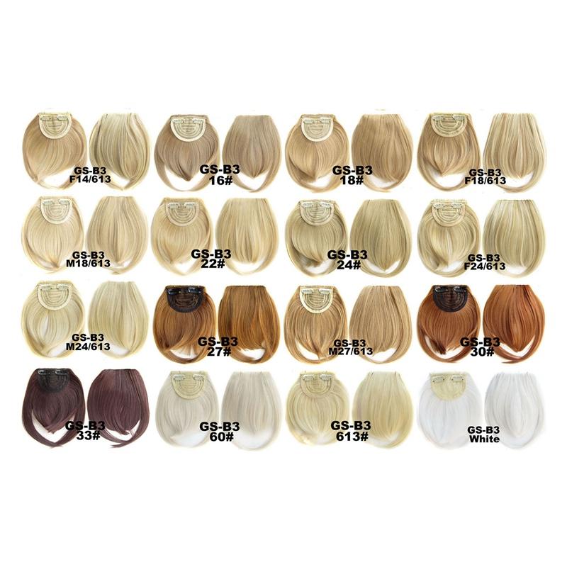 Agrafe-De-Frange-Soigne-A-L-039-Avant-Court-dans-Extensions-De-Cheveux-A-Frange-T4P8 miniature 6