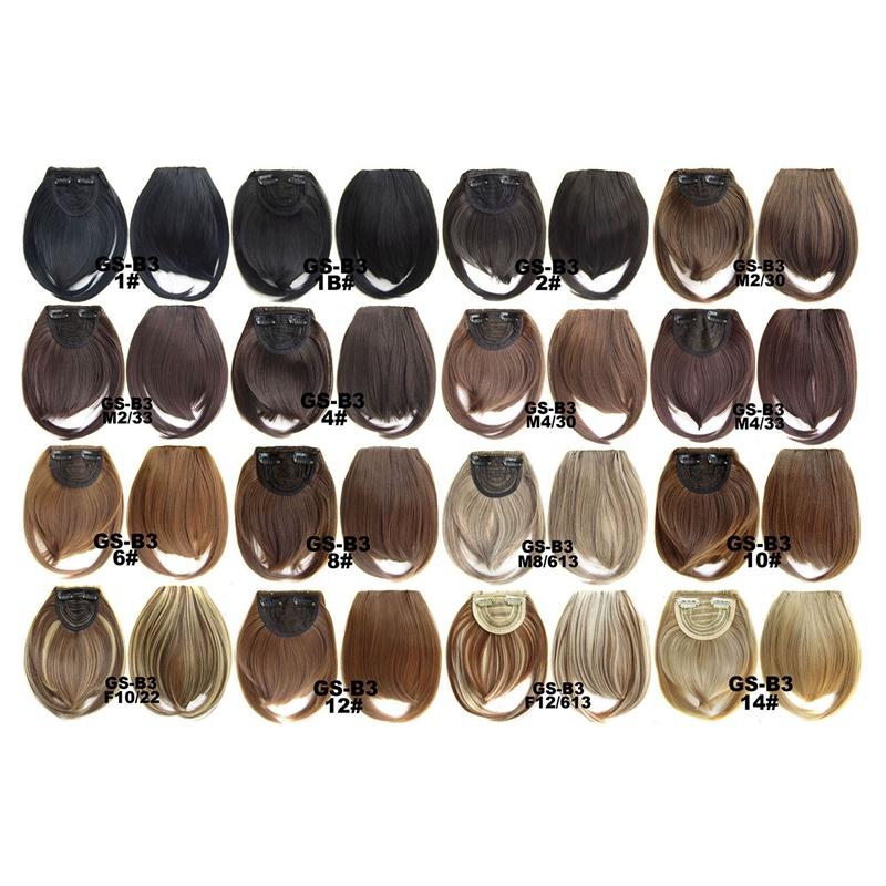 Agrafe-De-Frange-Soigne-A-L-039-Avant-Court-dans-Extensions-De-Cheveux-A-Frange-T4P8 miniature 35