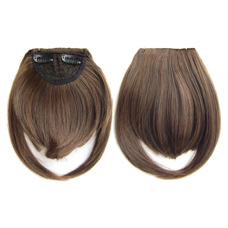 Agrafe-De-Frange-Soigne-A-L-039-Avant-Court-dans-Extensions-De-Cheveux-A-Frange-T4P8 miniature 38