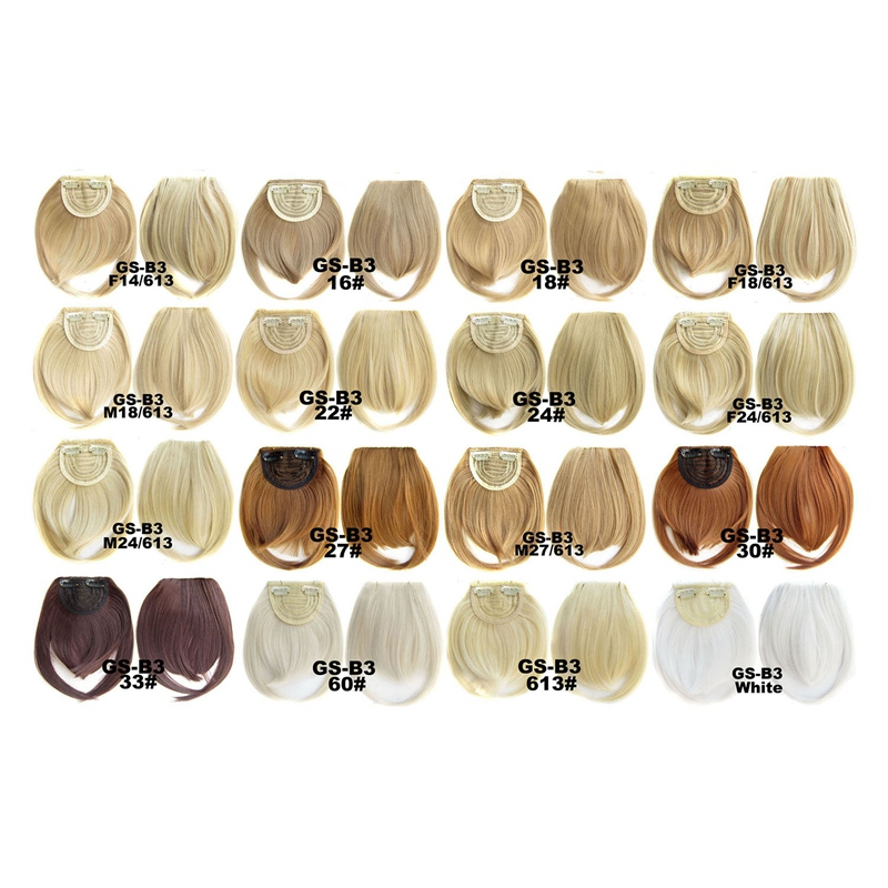 Agrafe-De-Frange-Soigne-A-L-039-Avant-Court-dans-Extensions-De-Cheveux-A-Frange-T4P8 miniature 60
