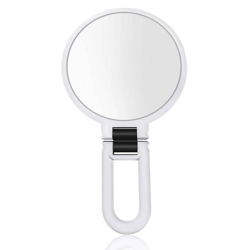 Miroir-De-Maquillage-Grossissant-10X-Ventouse-Verrouillable-Led-Cosmetique-N6A1 miniature 15