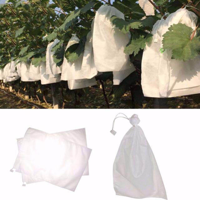 2X 100 StÜCke Trauben Schutz Taschen FÜR Obst GemÜSe Trauben Netz Beutel GeQ1Y3
