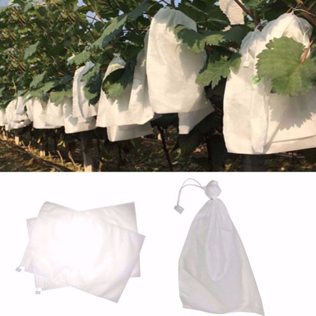 1X-100Pcs-Grape-Protection-Bags-For-Fruit-Vegetable-Grapes-Mesh-Bag-Against2D6 thumbnail 5