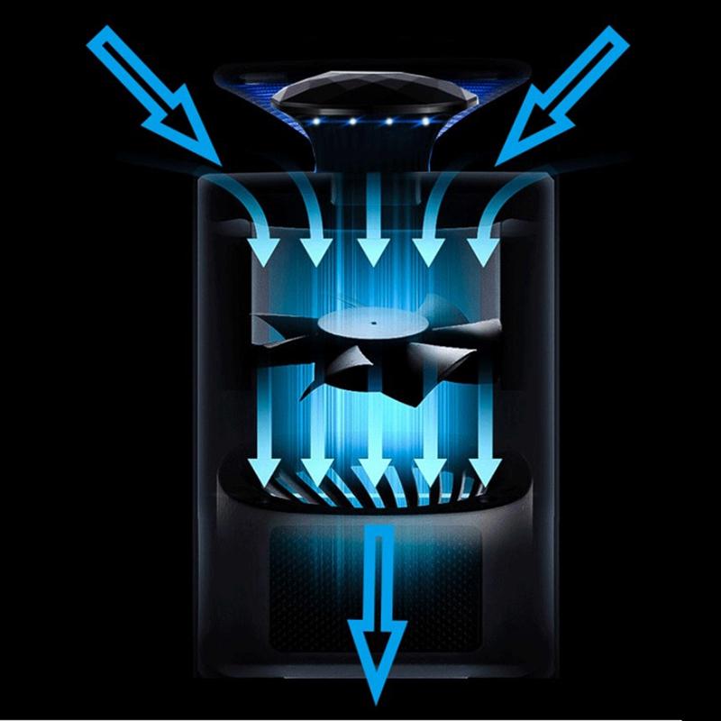 Lampe-A-Tueur-De-Moustique-Electrique-Lampe-De-Piege-D-039-Insecte-Lampe-Anti-B-5V3 miniature 6