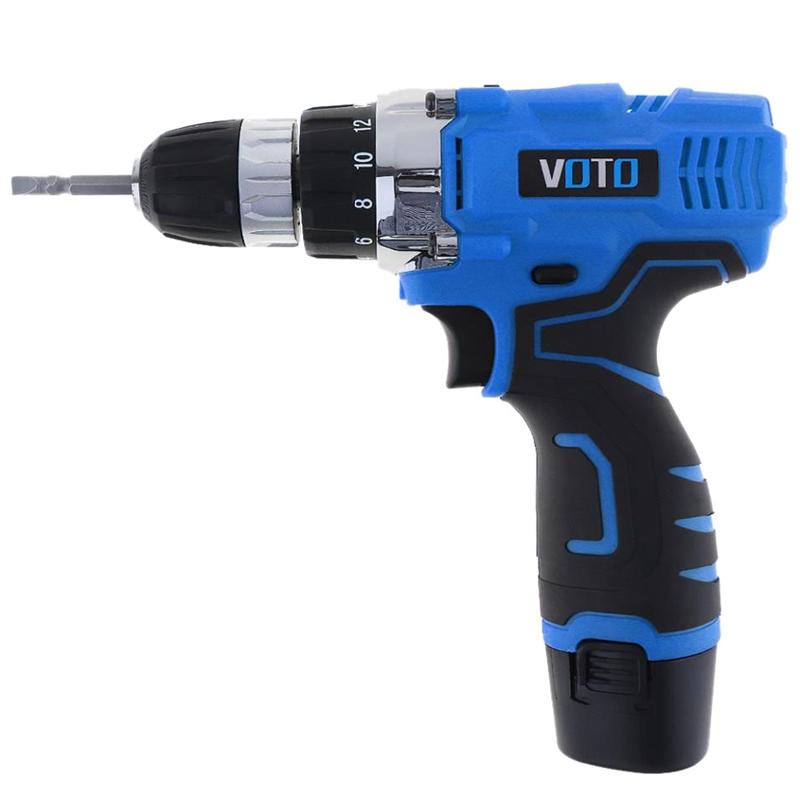 1X-VOTO-Vt601-12-V-Destornillador-Taladro-Electrico-Inalambrico-Destornil-Y4X8 miniatura 3