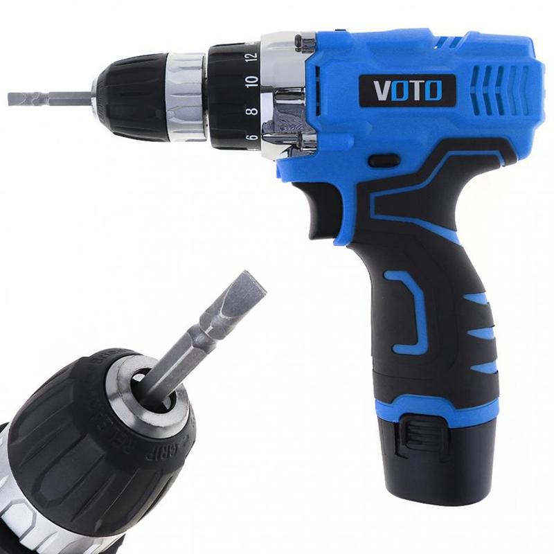 1X-VOTO-Vt601-12-V-Destornillador-Taladro-Electrico-Inalambrico-Destornil-Y4X8 miniatura 7