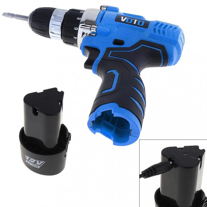 1X-VOTO-Vt601-12-V-Destornillador-Taladro-Electrico-Inalambrico-Destornil-Y4X8 miniatura 8