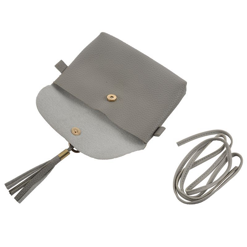 Mode-Tasche-Vintage-Handtasche-Kleine-Messenger-Quaste-UmhaeNgetaschen-G5U9 Indexbild 14