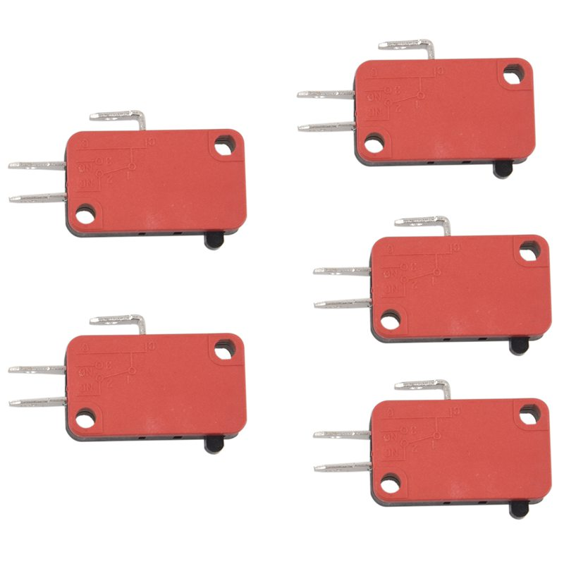 15A 250VAC 4A 250VAC Srew Connector Actuator Limit Micro Switch 5 Pcs L7Z6
