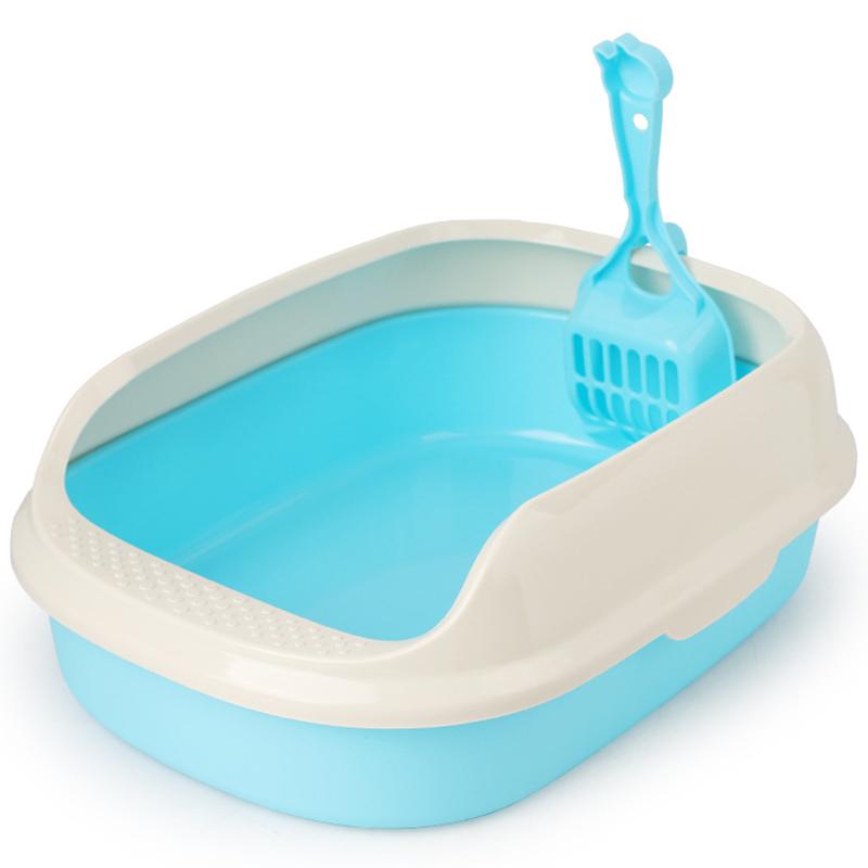 Bassin-Toilettes-Litiere-Pour-Chat-Plateau-Chien-Chat-Fourniture-Toilette-A-N8O6 miniature 9