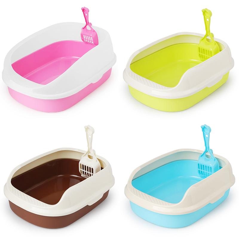 Bassin-Toilettes-Litiere-Pour-Chat-Plateau-Chien-Chat-Fourniture-Toilette-A-N8O6 miniature 29
