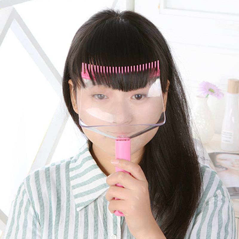 Diy Hair Bangs Fringe Cut Comb Clip Portable Trimmer ...