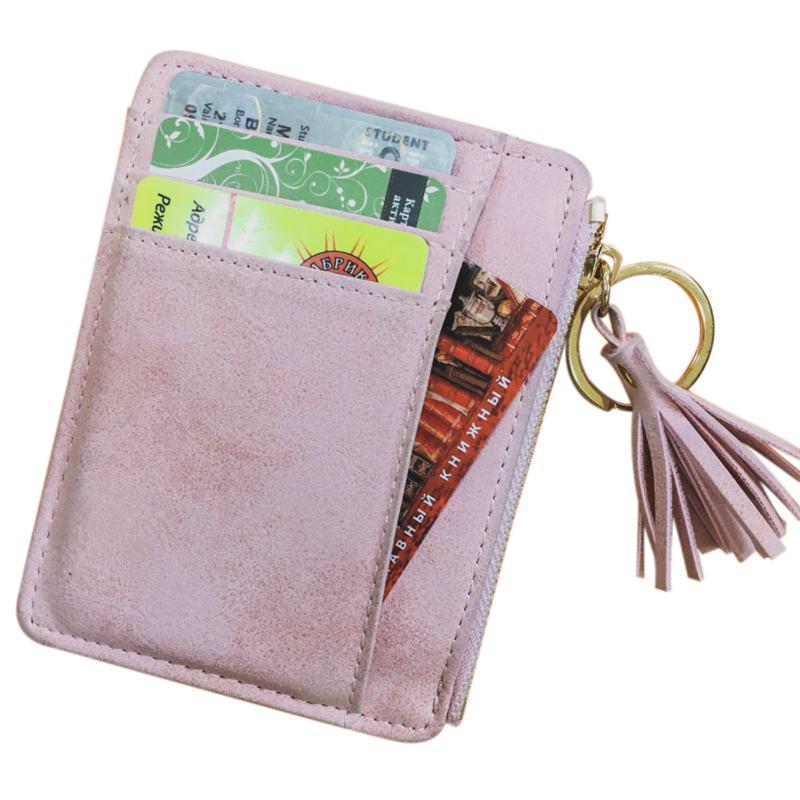 MINI in pelle borsa Portafoglio Portafoglio Tasche Borsa carte scomparti Donna Uomo