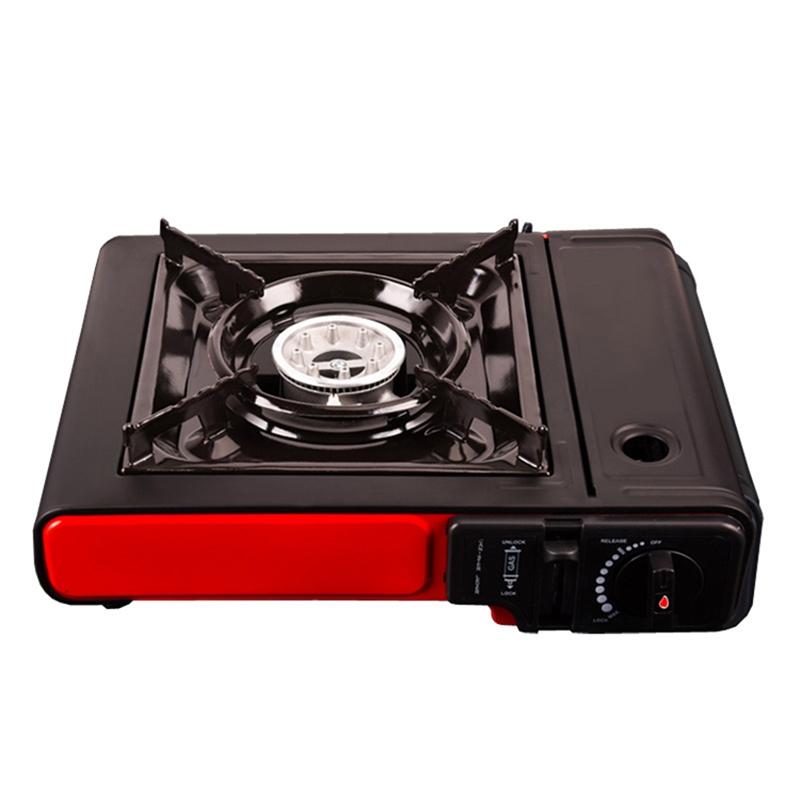 2X (Portable Outdoor Picnic pot gaz butane portable gaz stove Camping Randonnée T5H1