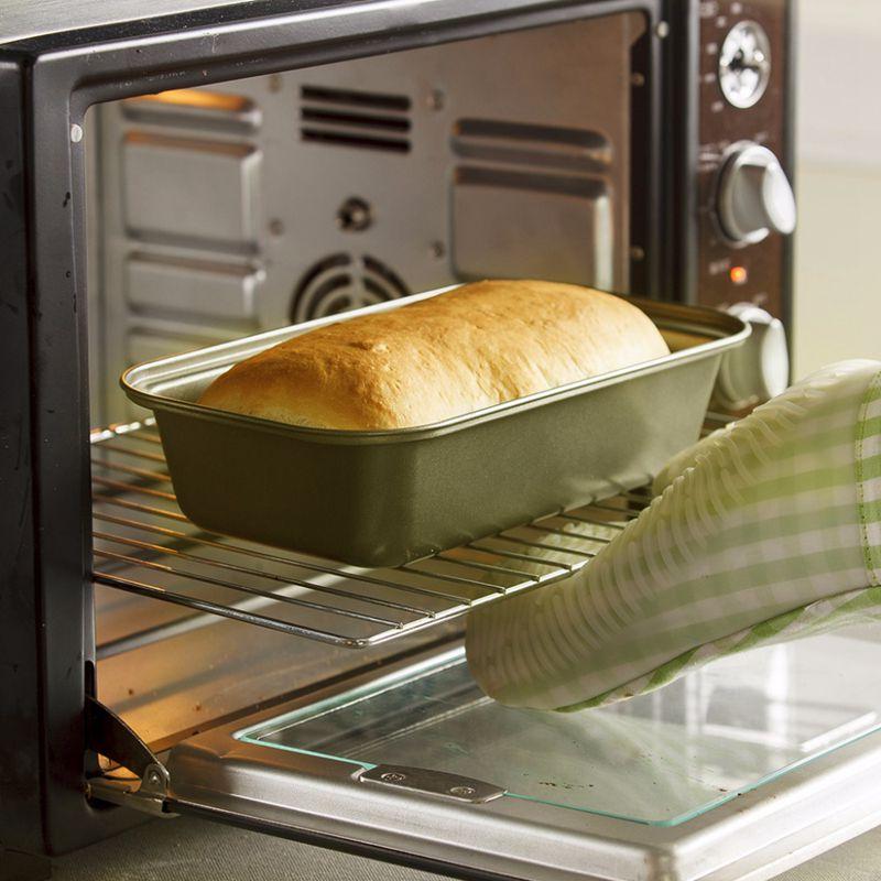 2 Non-Stick Square Tin 22.5 X 22.5 X 4.5cm Cake Pan Bakeware Baking Tin Bake
