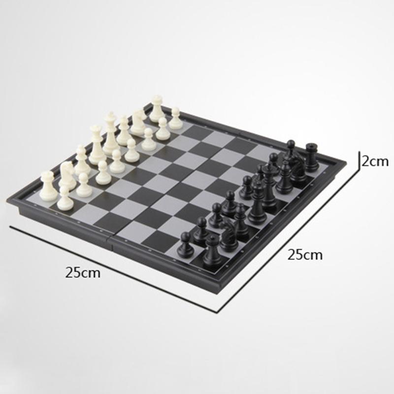 Jeu D/'Échecs Magnétique Jeu D/'Échecs Éducatif International D/'Échecs Jeu D/' Z7P7