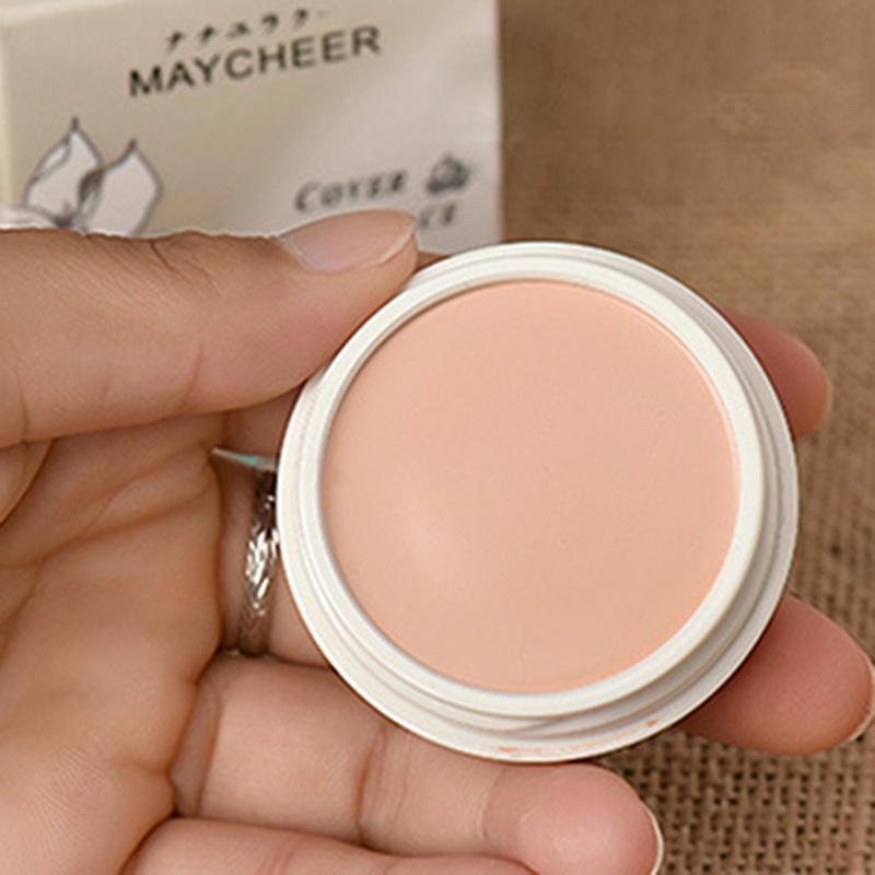 miniatuur 14 - 5X(MAYCHEER Brand Spf 30 Cream Concealer Palette Waterproof Oil-Control Amazin W
