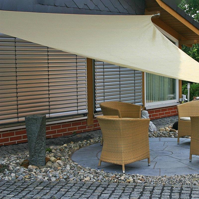 Dreieck-Sonnen-Schutz-Segel-Sonnen-Schutz-Zelt-Garten-Terrasse-Schwimmbad-S-P2J5 Indexbild 5