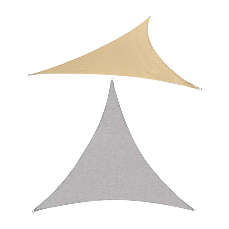 Dreieck-Sonnen-Schutz-Segel-Sonnen-Schutz-Zelt-Garten-Terrasse-Schwimmbad-S-P2J5 Indexbild 7
