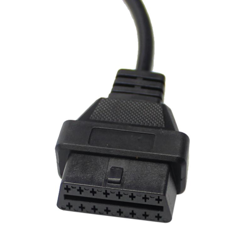 ซื้อ For Mazda 17pin To 16pin Obd2 Obd Ii Cable Connector