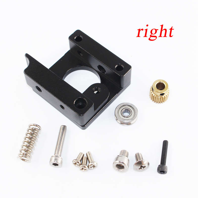3D-Printer-Parts-Mk8-Extruder-Black-Edition-Aluminum-Block-Diy-Kit-Makerbot-Z1A3 miniature 4