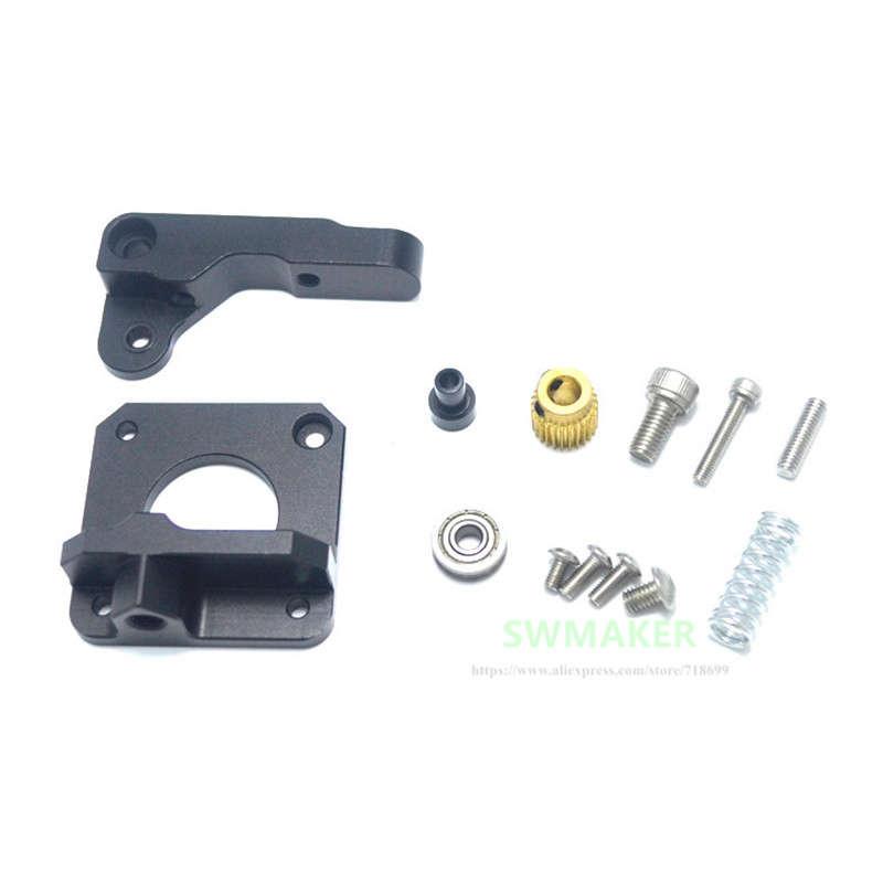 3D-Printer-Parts-Mk8-Extruder-Black-Edition-Aluminum-Block-Diy-Kit-Makerbot-Z1A3 miniature 6
