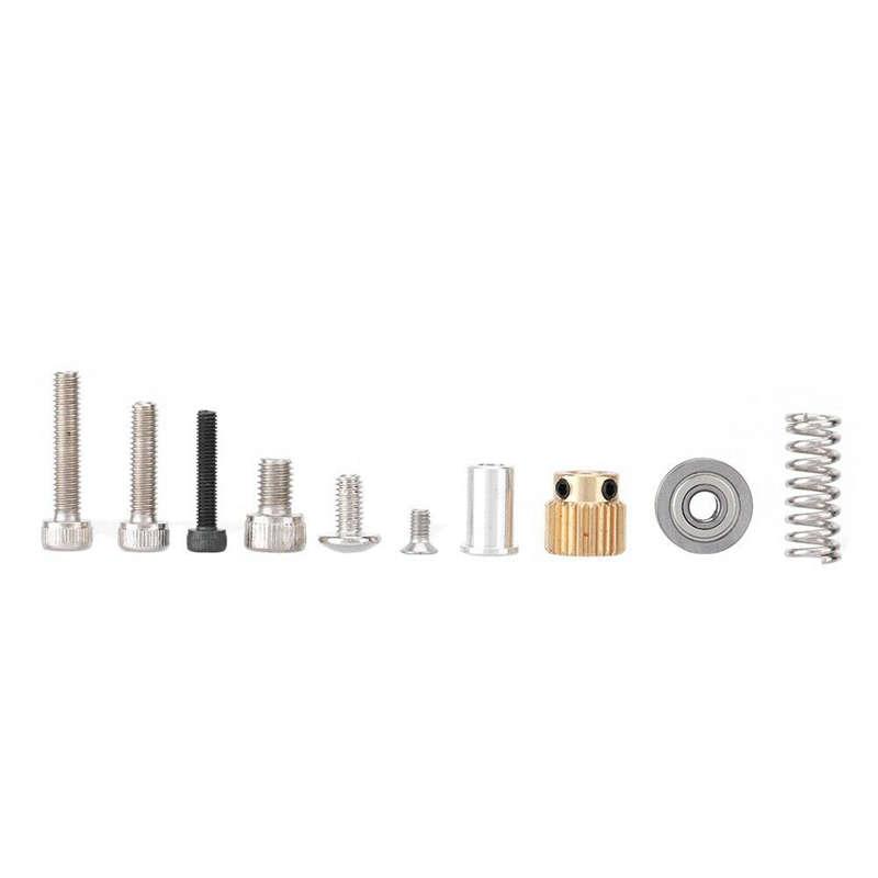 3D-Printer-Parts-Mk8-Extruder-Black-Edition-Aluminum-Block-Diy-Kit-Makerbot-Z1A3 miniature 8
