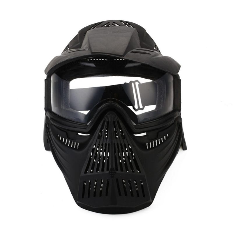 Tactical-Outdoor-Lens-Mask-Full-Face-Breathable-Cs-Hunting-Military-Army-Ai-W6M4 thumbnail 11